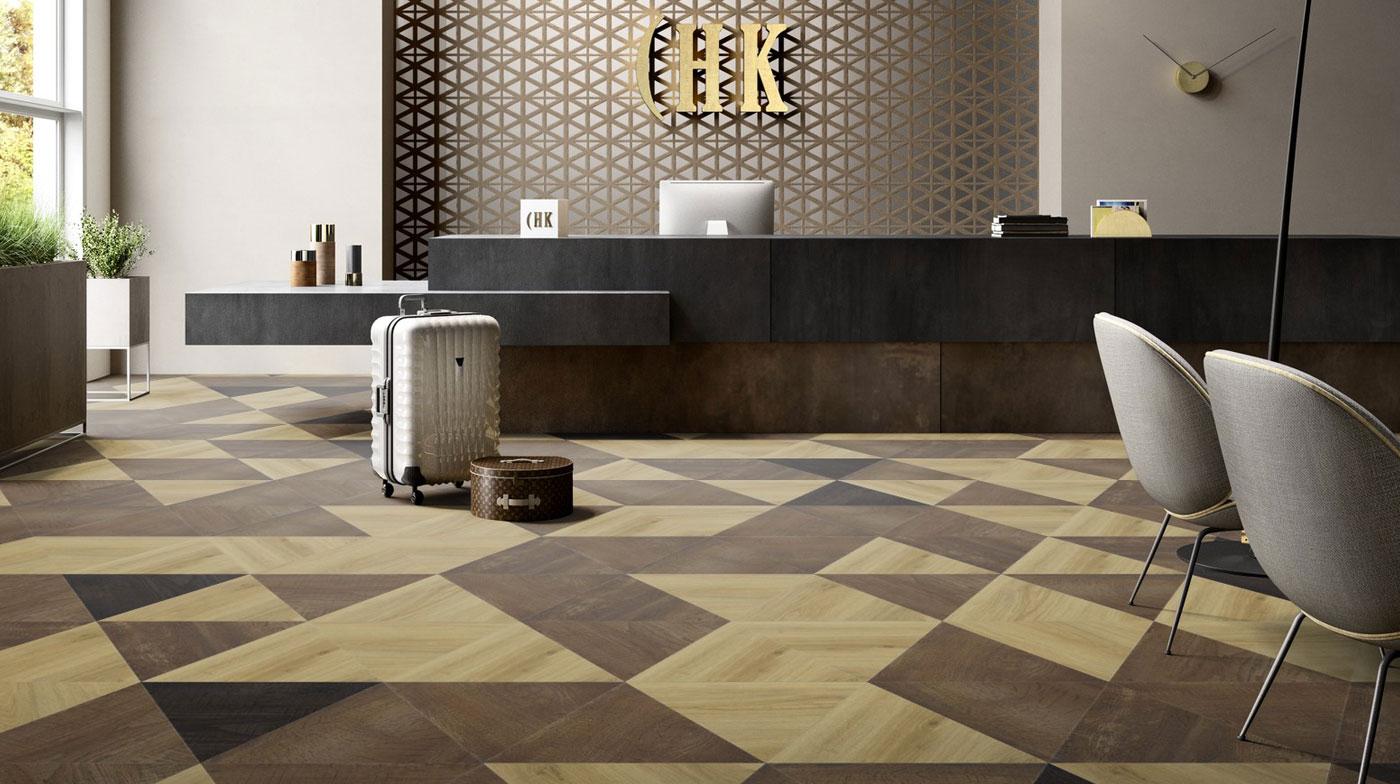 Create your own floor designs maisons et parquets for Riva laminate flooring
