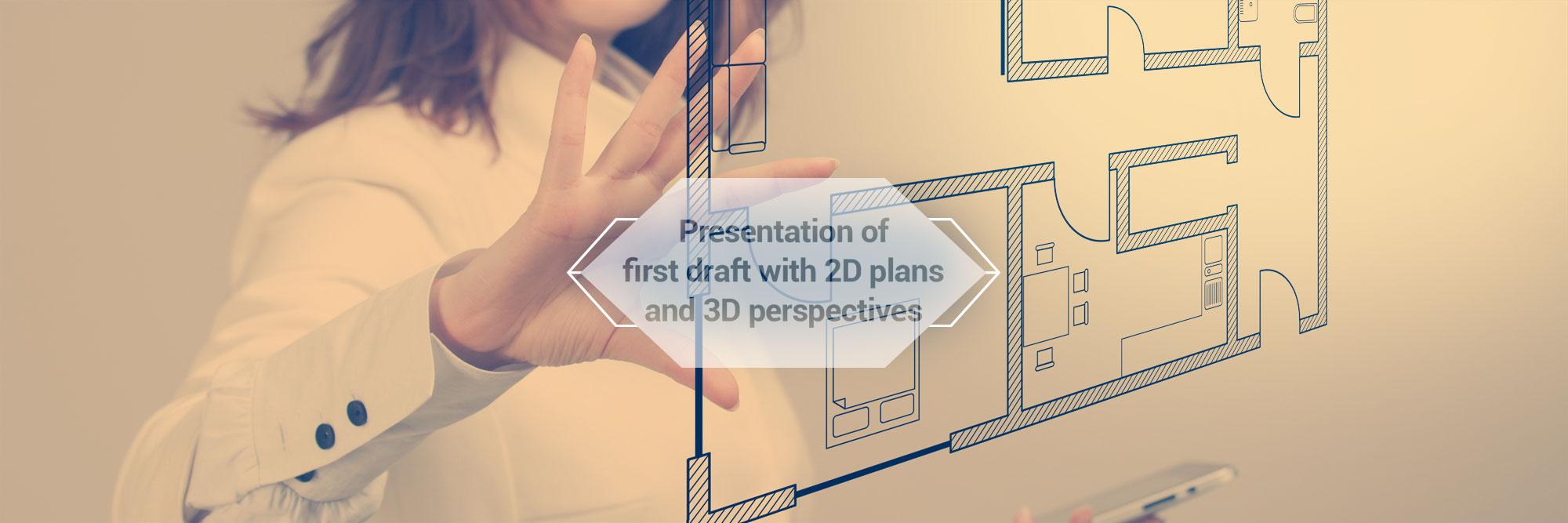 Presentation of first draft